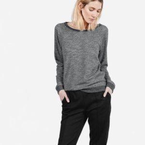 Everlane The Crew Sweatshirt: Marled Gray XS
